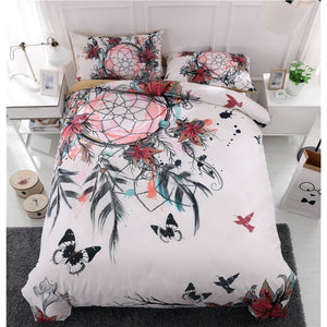 Bohemian Dream Catcher Pattern Bedding Sets Digital Printing Mandala  Duvet Cover Set (Twin Full Queen King Size )