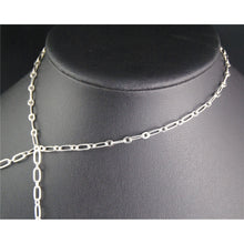 5 Meters Silver Long links 7.5x4mm Short links 4x3mm Long and Short Link chain Soldered Chain Jewelry Necklace Findings C87