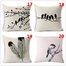 18 Inches Decoration Pillow Linen Blend Throw Pillow Case Living Room Sofa Cushion Cover