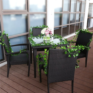 12Pcs Artificial Flower Hanging Flowers Leaves Simulation Vine for Wedding Bouquet