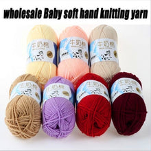 30 Colors Winter Warm Yarn Soft Bamboo Crochet Cotton 50g Knitting Yarn Baby Knit Ball of Yarn for Hat Gloves Sweater Scarf