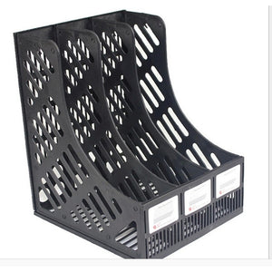 Divider Magazine Holder File Rack Office Home Storage Box Tray Organizer
