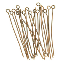 100Pcs Eye Pins Finding Any Size Choose For Jewelry DIY 4 Color