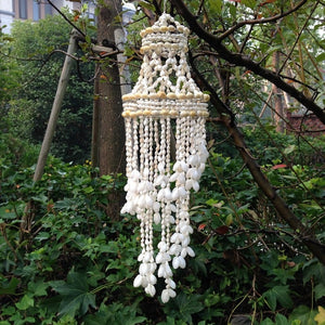 New Fashion Home Decor Conch Shells Wind Chimes Ceramic Door Room Garden Hangings Windbell