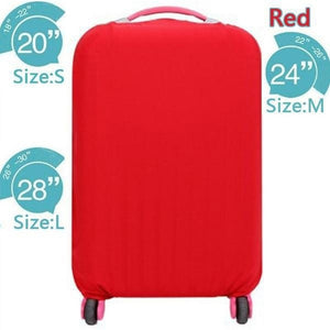 Elastic Dust-proof Travel Luggage Cover Suitcase Protector
