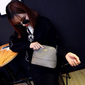 Fashion Women Lady Matte Satchel Handbag Shoulder Tote Messenger Crossbody Bag