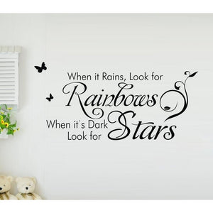 wall sticker Stars.. 1045 English stickers manufacturers  export generation carving explosion wall stickers for home deco vinyl
