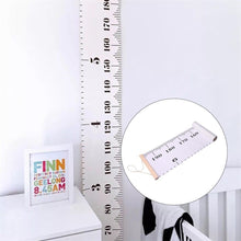Simple Nordic Style Children 'S Height Ruler Decoration Painting Children Room Decoration
