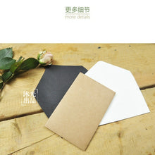 20-pack Creative Retro Kraft Paper Card Envelope -mini Series