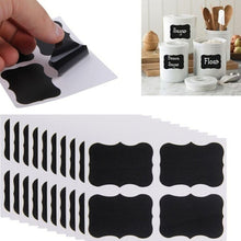 36 Pcs/Set Chalkboard Blackboard Chalk Board Stickers Craft Kitchen Candy Jar Labels for Kitchen Office School