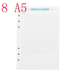 Vintage Office Supplies Classic Notebook Notepad Planner Diary Sketch Graffiti Blank Writing Paper