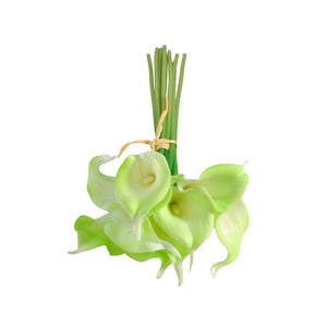20pcs Artificial Fake ivory calla lilies Flowers Home Decor