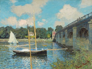 Claude Monet - The Bridge at Argenteuil