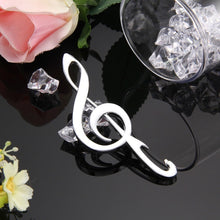 Creative Birthday Wedding Stainless Steel Music Note Bottle Opener Beer Opener Abridor De Garrafa Abridor De Cerveja hv5n