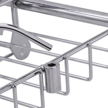 Stainless Steel Bathtub Rack Holder Bath Shelf Shelves Shower Tub Book Phone Tray Stand Storage with Extending Sides