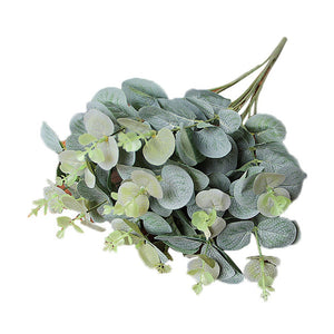 Use Artificial Fake Leaf Eucalyptus Leave Simulation Leaves Wedding Party Home Decor