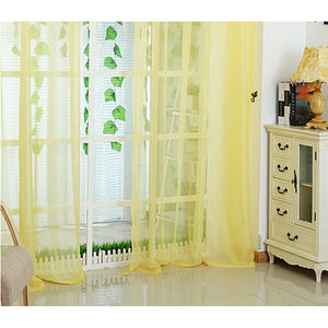 13Color Latest Fashion Lot Colors Floral Tulle Voile Door Window Curtain Drape Panel Sheer or Scarf Assort0ed Scarf Sheer Voile