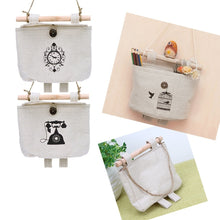 12 Styles Fashion Navy Fabric Cotton Pocet Hanging Holder Wall Storage Rack Bags