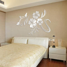 3d Mirror Mural Decal wall stickers room decorations wall art mirror wall stickers adesivo de parede