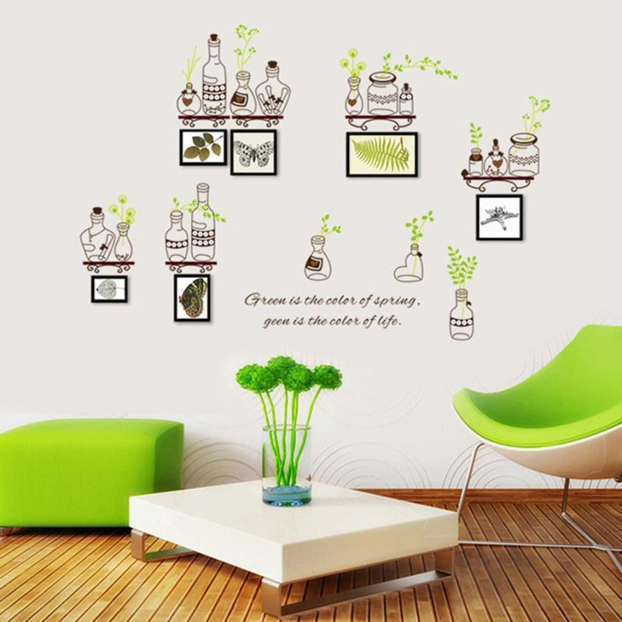 Super Deal 2016 Photo Frame PVC Wall Decals Adhesive Wall Stickers Mural Art Home Decor adesivo de parede XT