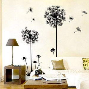 New Creative Dandelion Wall Art Decal Sticker Removable Mural PVC Home Decor Gift