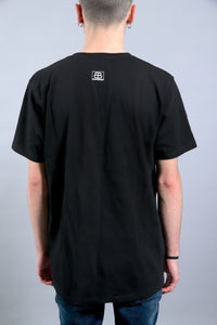 T-SHIRT MEDUSA PUR - BLACK