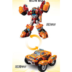 TOBOT Youngtoys TOBOT V Monster Robot Transforming Robot Car to Robot Animation Character - Toy Matters