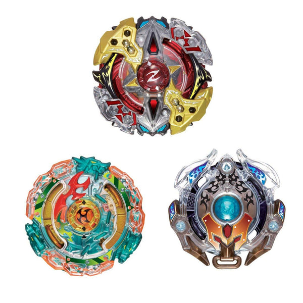 Takara Tomy Beyblade Burst B-90 3On3 Battle Booster Set - Toy Matters