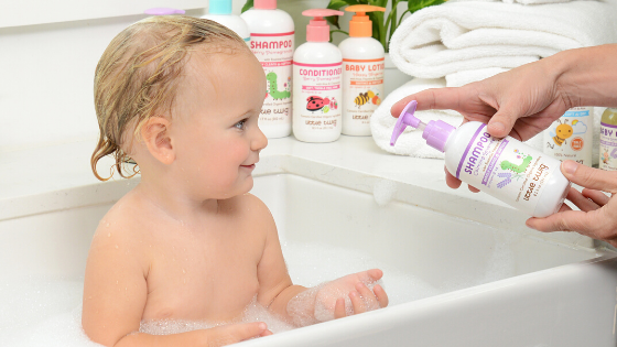 TOP 3 WAYS TO MAKE BATHTIME MORE FUN!