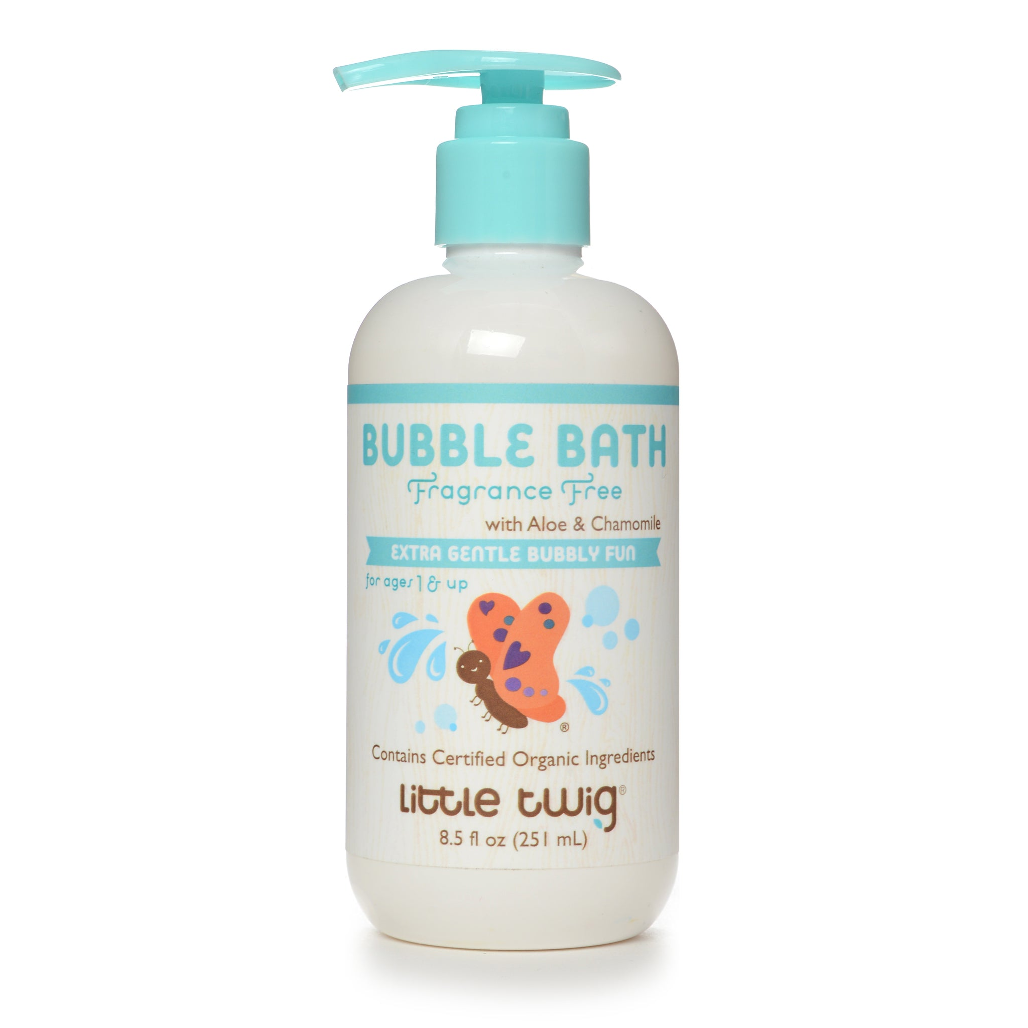 Fragrance Free Bubble Bath