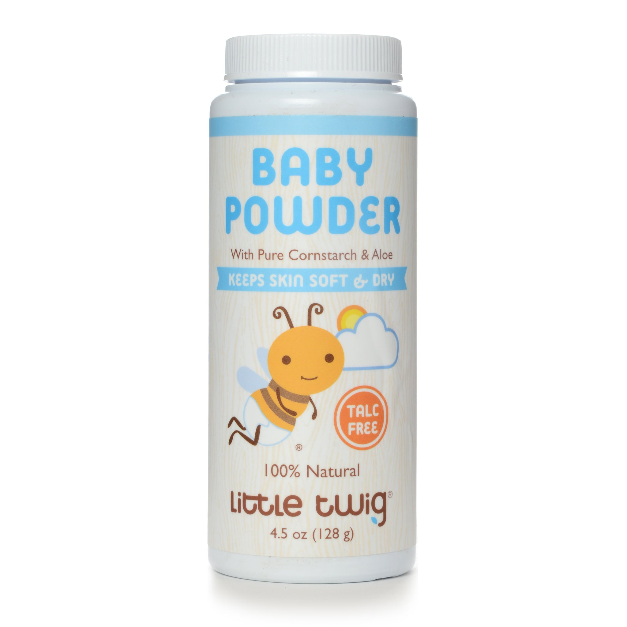 Baby Powder Talc Free (Fragrance Free)