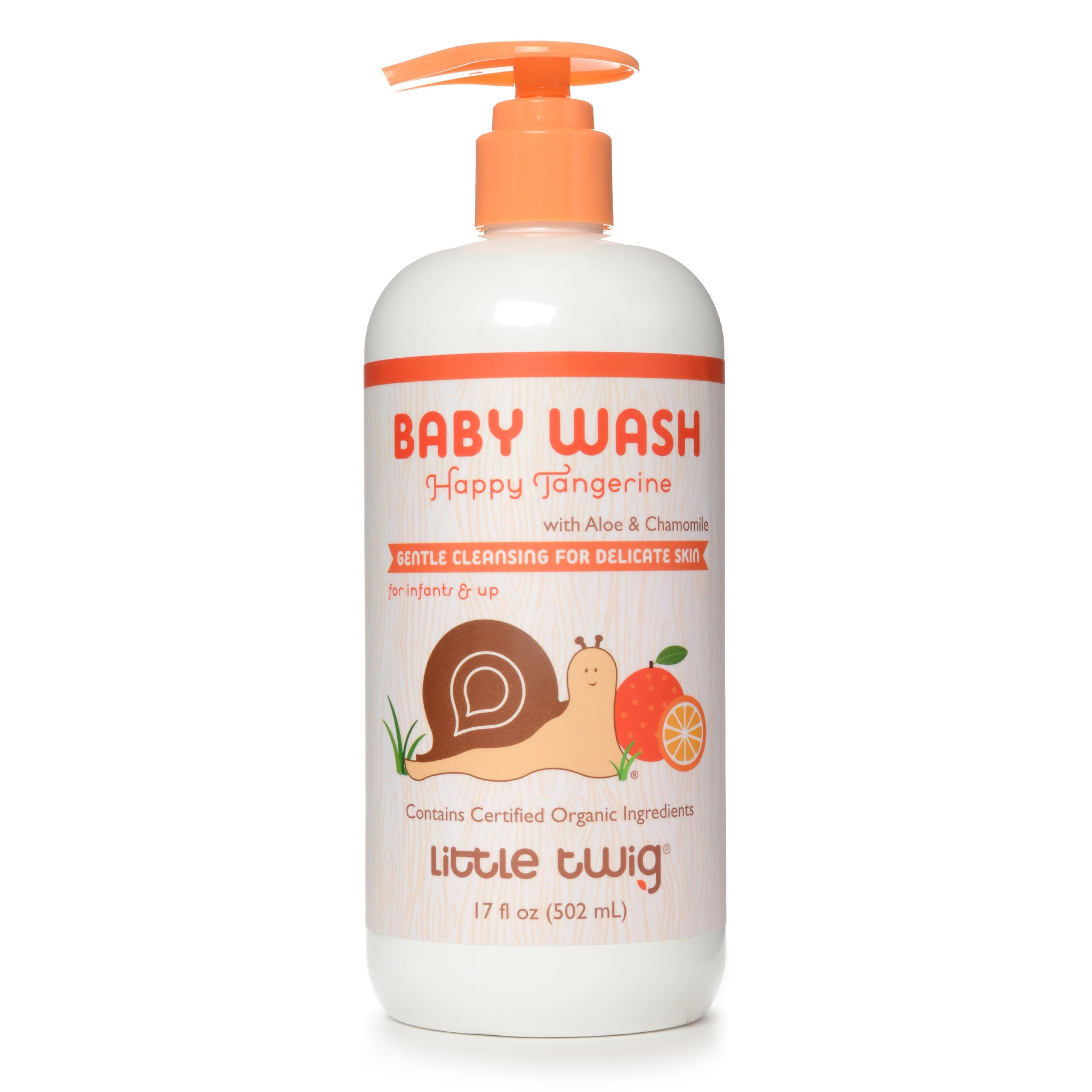 Happy Tangerine Baby Wash 2-in-1