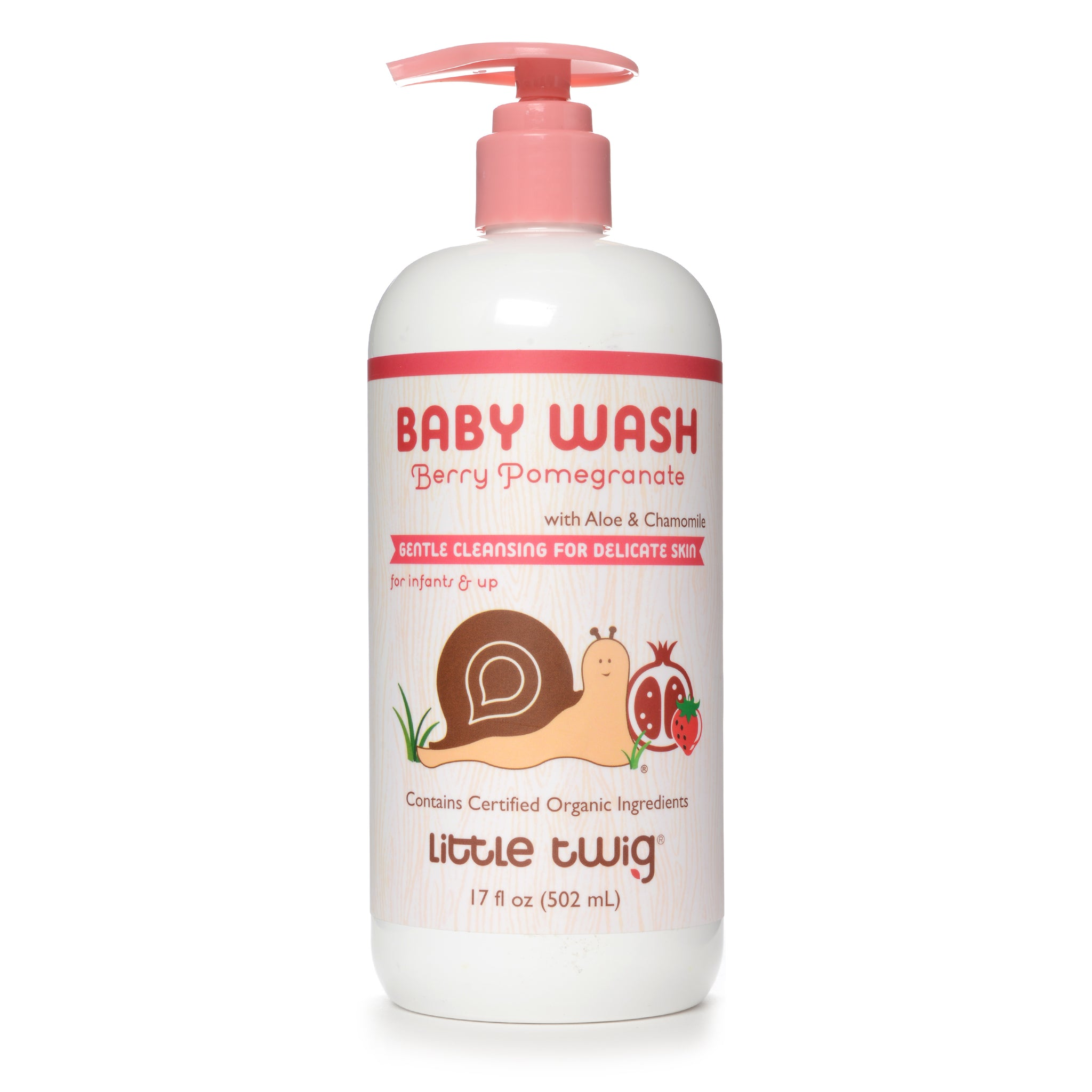 Berry Pomegranate Baby Wash 2-in-1