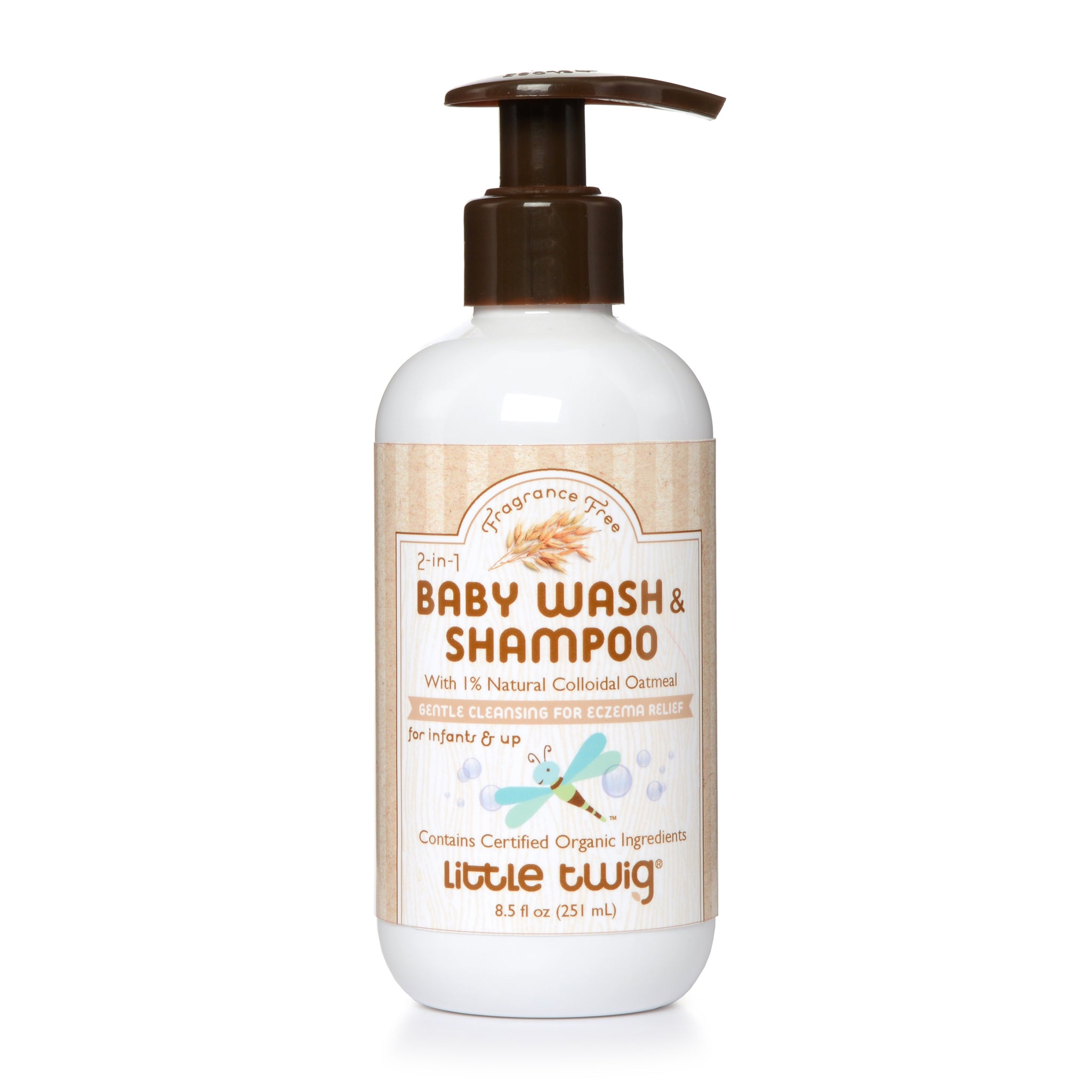 Colloidal Oat Baby Wash & Shampoo