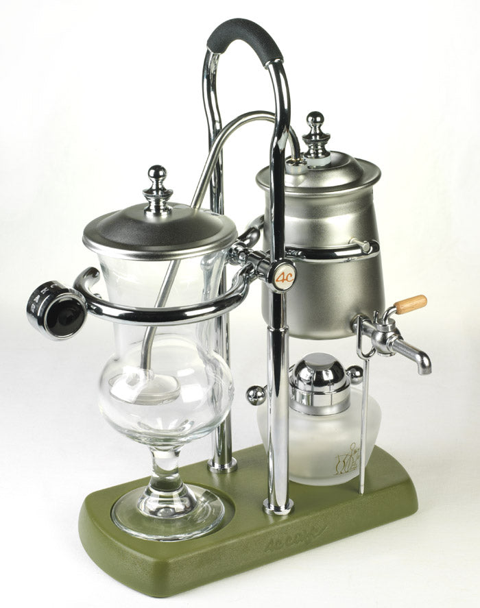 Syphon Coffee Maker History : Sorrentina Coffee Online Store - Belgium Royal 4C Cafe Balance Syphon Coffee Maker