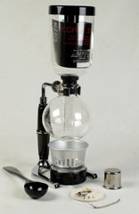 Bellina 2/3 Cup TCA-3 SILVER Vacuum/Siphon/Siphon Coffee Maker