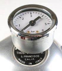 Bellman Pressure Guage for Thos. (Thomas) Cara, LTD. DELUXE Atomic Coffee Maker Horizontal Type