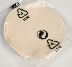 Set of 5 Cloth Filters For Coffee Syphon Drawstring Type- Hario, TCA, Others