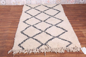 Moroccan Rug with Tassels