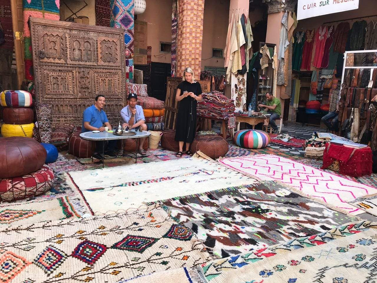 Moroccan area rugs