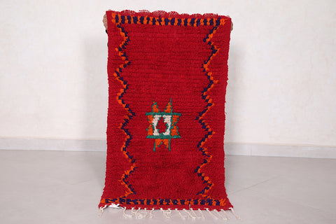 Small moroccan rug 1.8 FT X 3.4 FT
