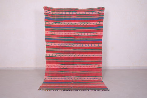 Runner Moroccan rug 4.7 FT X 7.7 FT