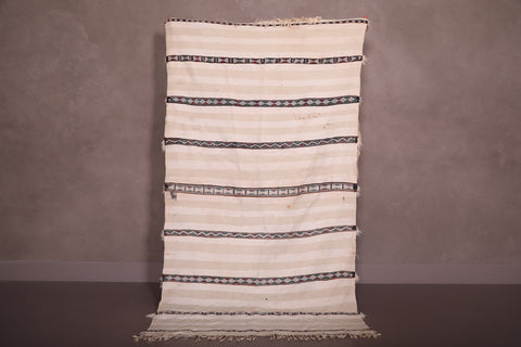 Berber Wedding Blanket, 3.6 FT X 6.5 FT