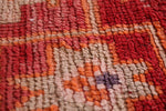 Small vintage moroccan rug 2.4 FT X 4 FT