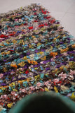 Small Rag rug 1.6 FT X 4.5 FT
