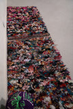 Long rag rug 1.9 FT X 6.5 FT