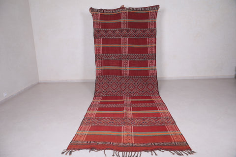Long moroccan rug 4.7 FT X 12.9 FT
