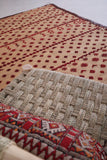 Vintage Straw Mat 6 FT X 9.7 FT