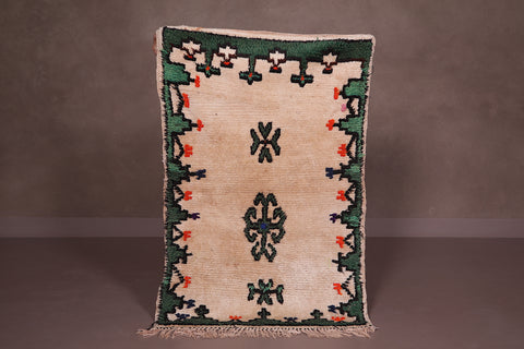Wool Moroccan rug 2.3 FT X 3.6 FT