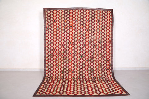 Moroccan hassira mat 6.3 FT X 9.2 FT